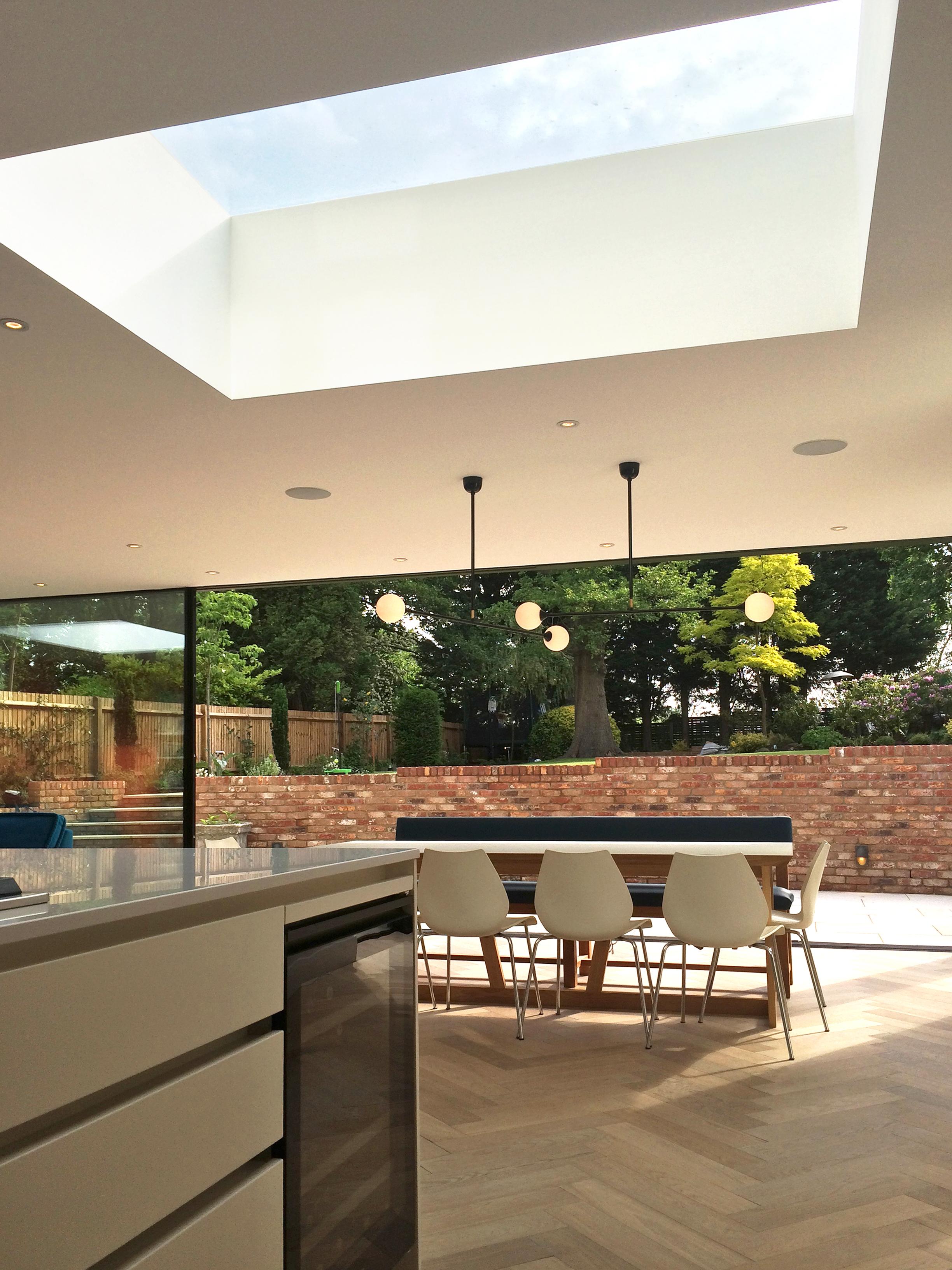 Finchley Refurbishment Roof Light