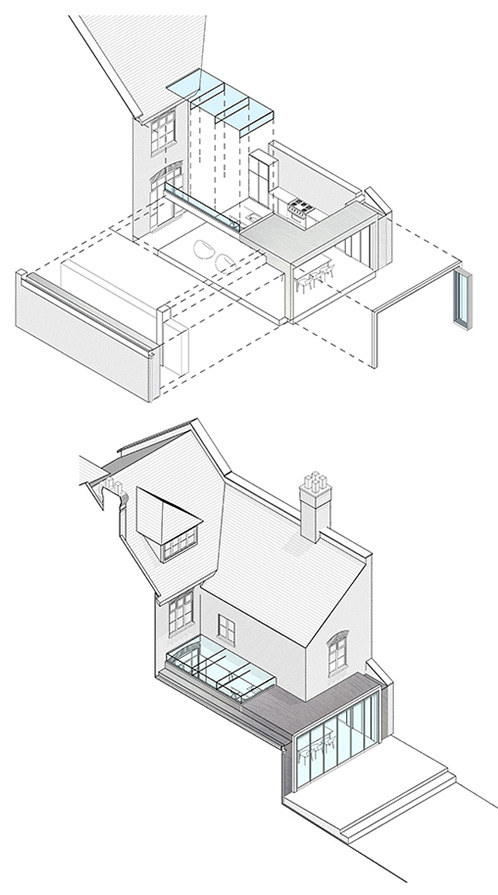 Notting Hill Extension Drawings
