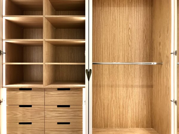 Westminster Extension Wardrobe Open